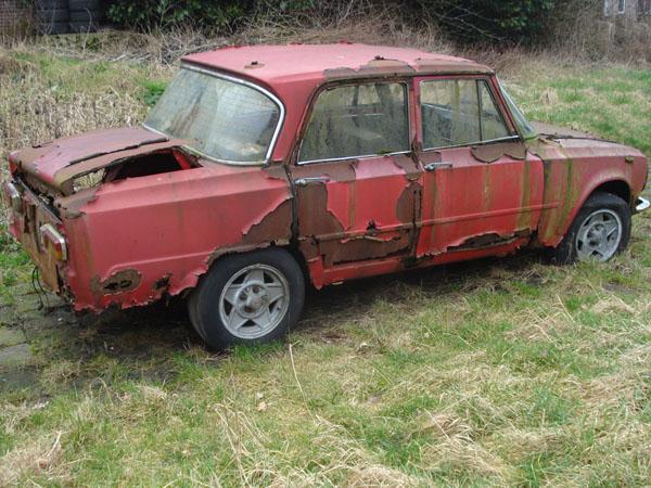 Verrotte auto